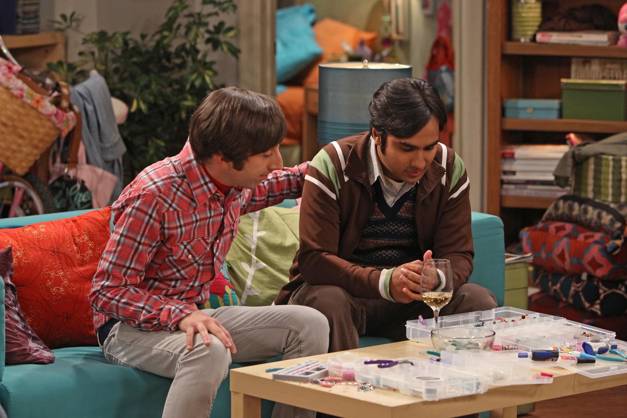 Howard & Raj
