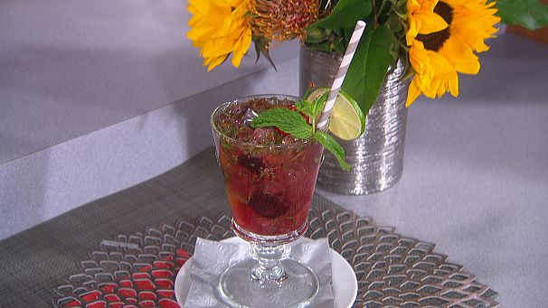 Marcel Vigneron's Blended Cherry Mojito