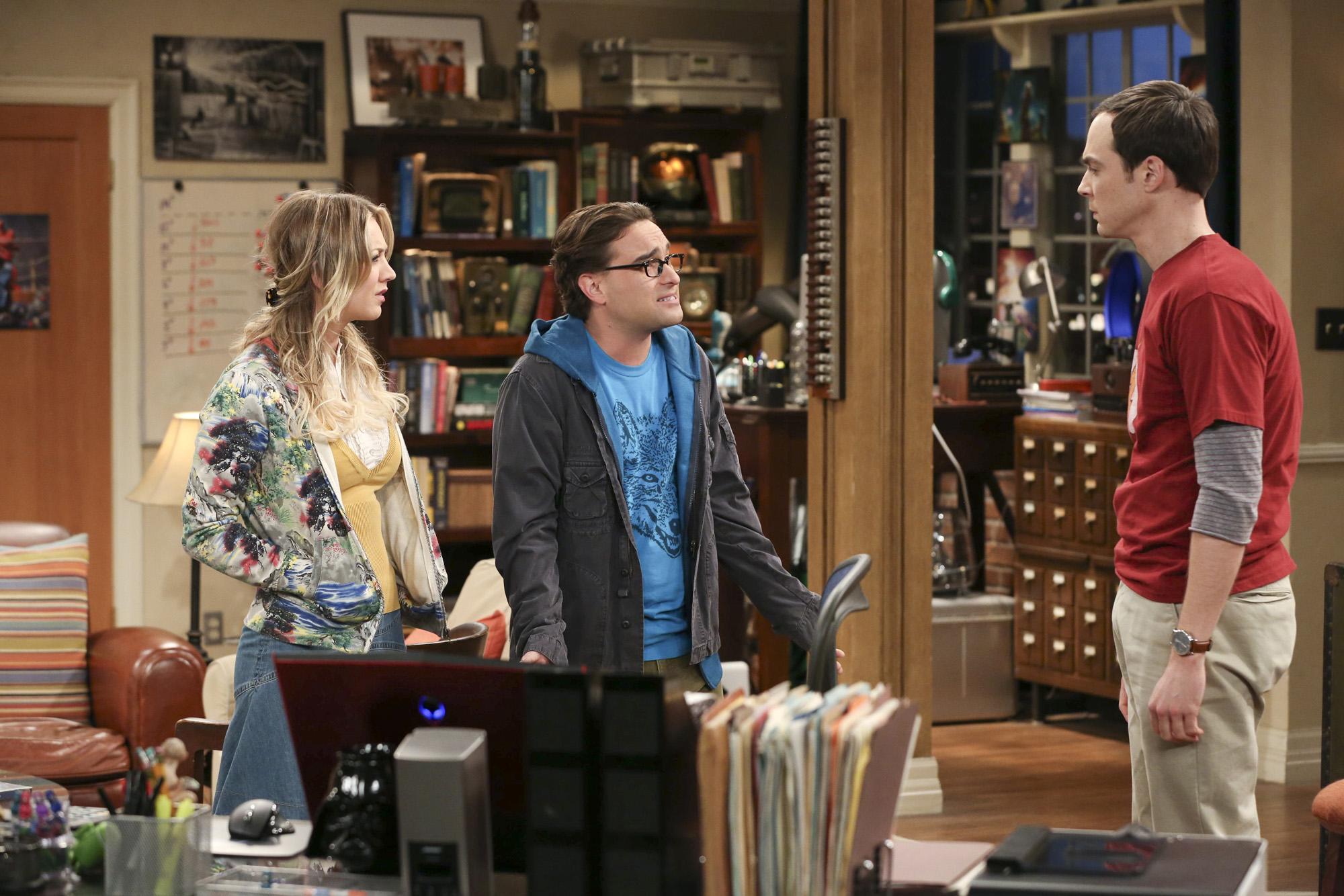 Penny, Leonard & Sheldon in