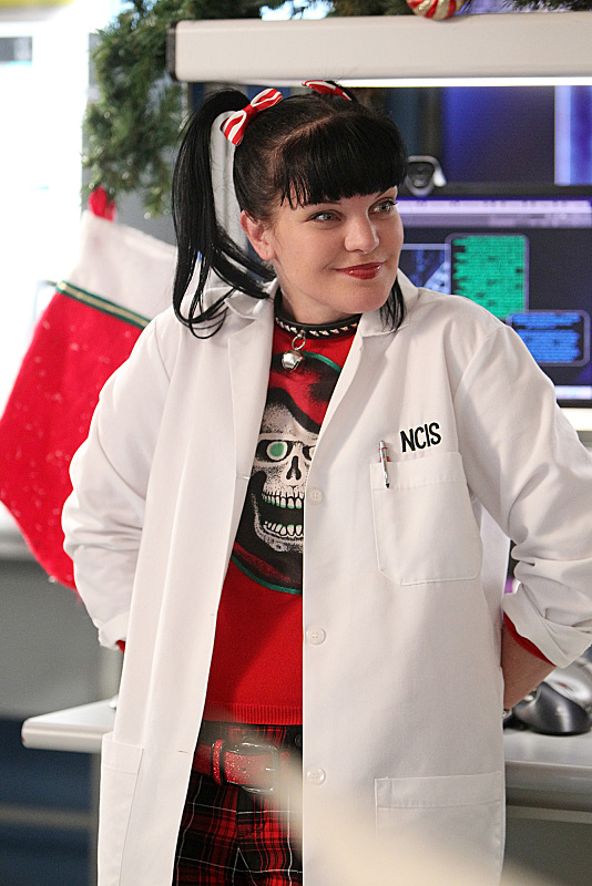 We love her as Abby on NCIS