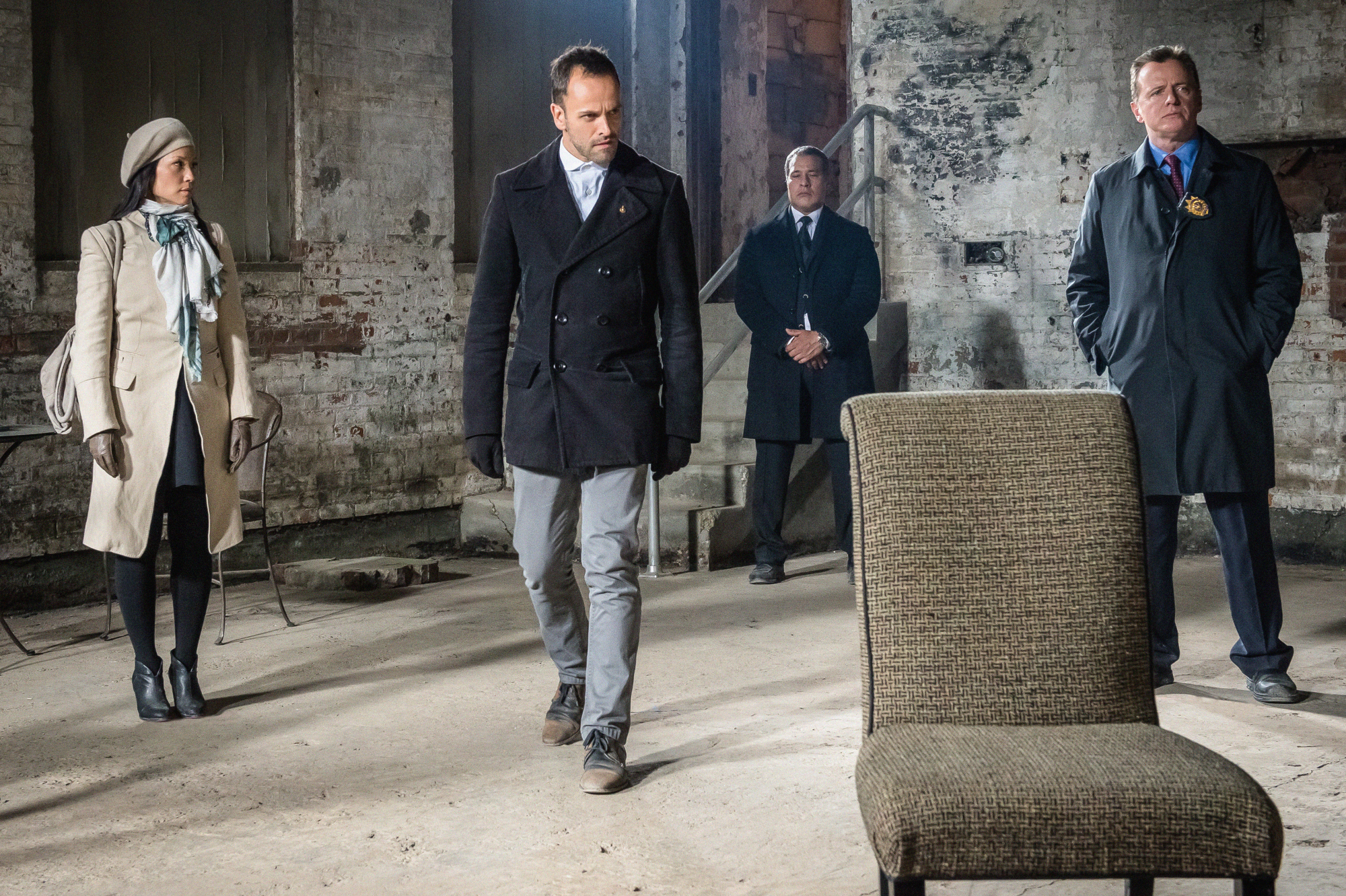 Holmes, Watson and Captain Gregson