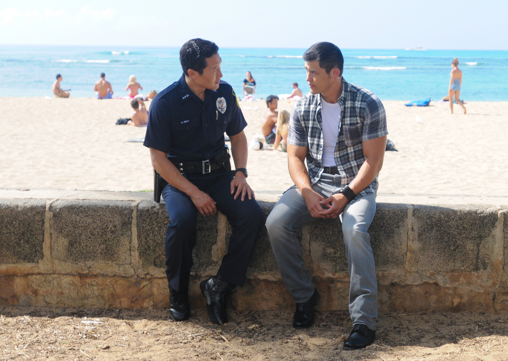 Beach Boardwalk in Season 4 Episode 13