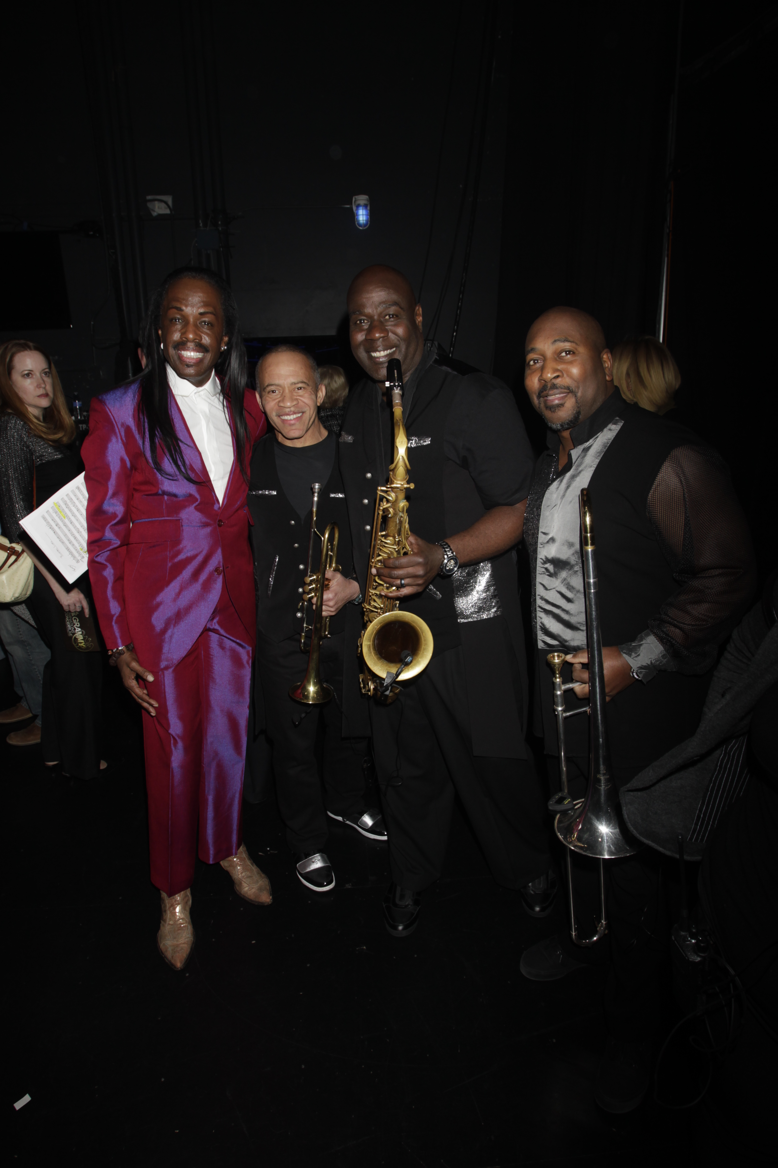 Verdine White and Earth, Wind, & Fire