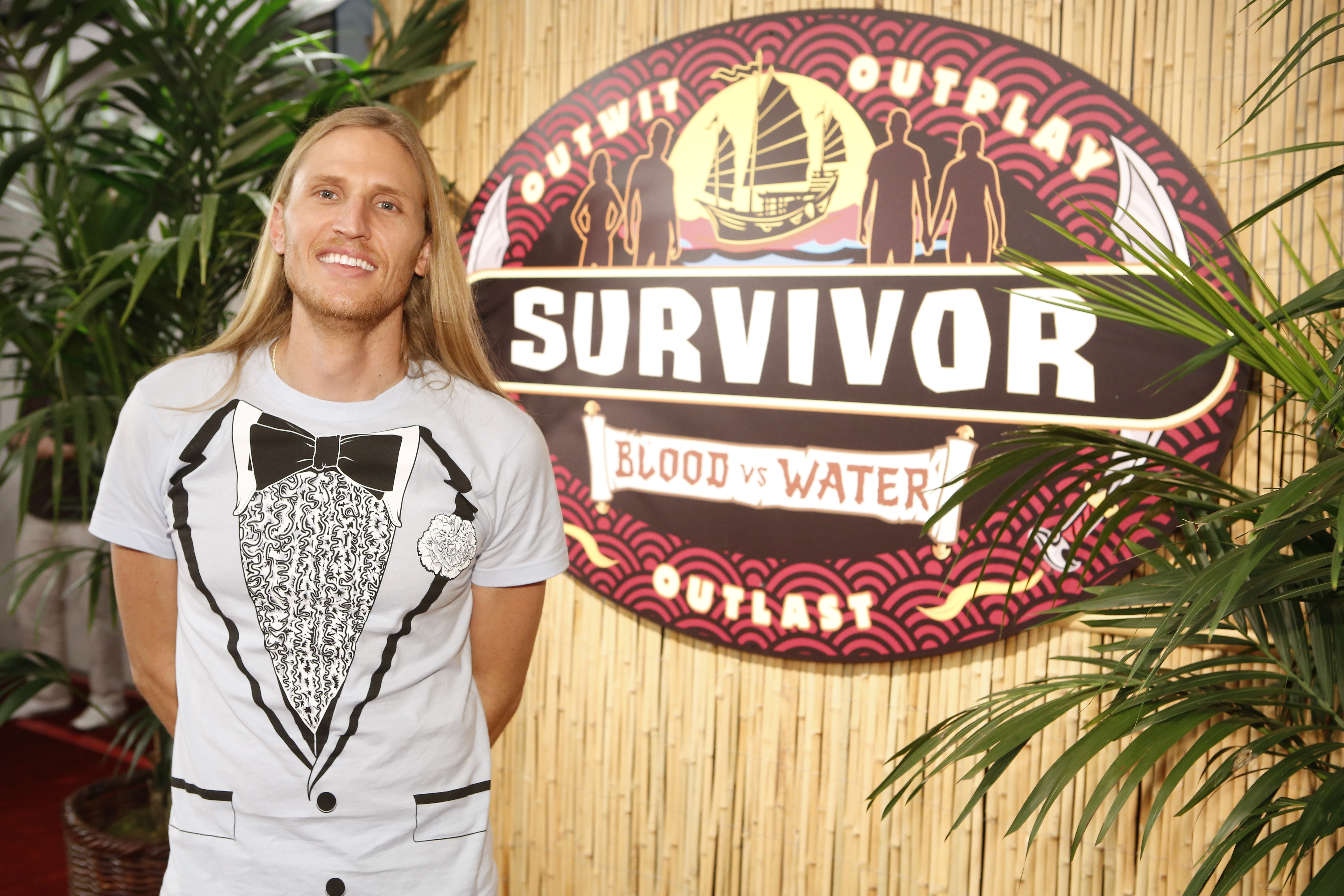 Tyson, winner of Survivor: Blood vs. Water