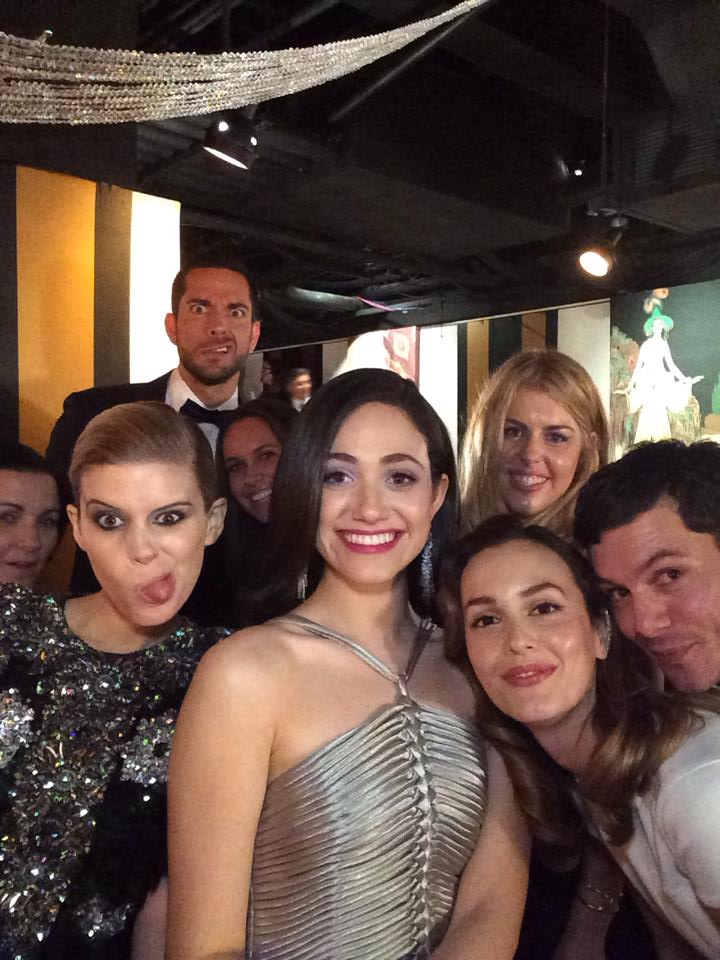 2. Kate Mara, Zachary Levi, Emmy Rossum, Leighton Meester, Adam Brody - Backstage at the Tony Awards