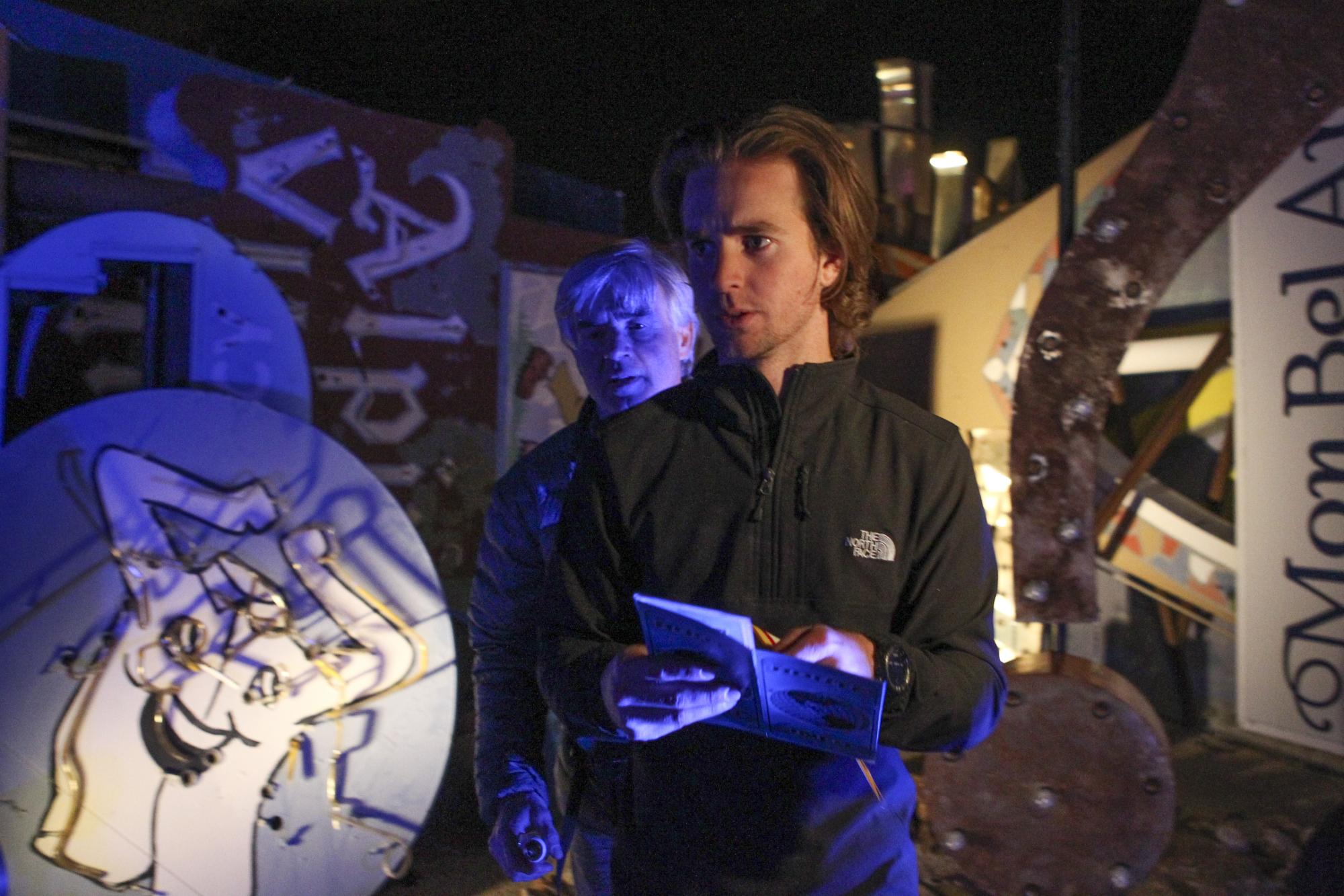 Neon Boneyard in The Amazing Race Season Finale