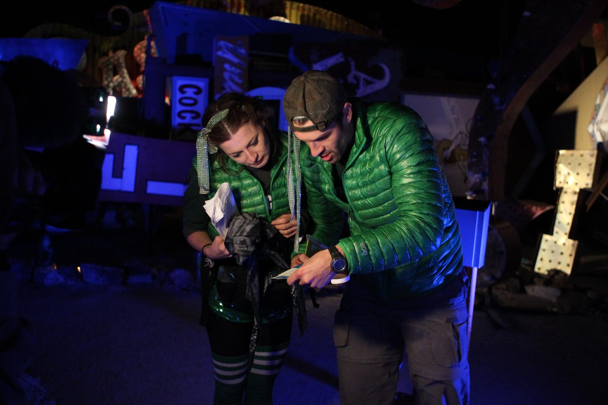 Brendon and Rachel in The Amazing Race Season Finale