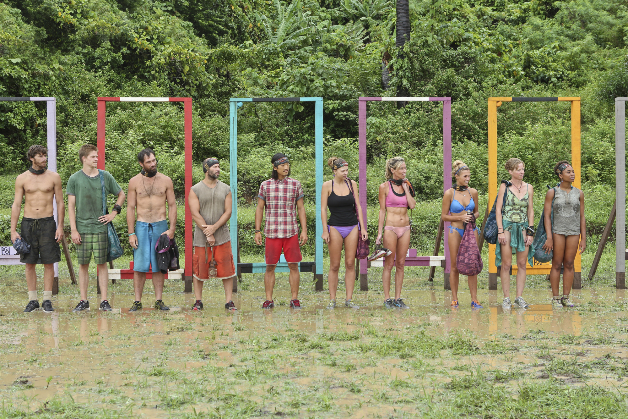 Getting ready for Immunity in Season 28 Episode 7