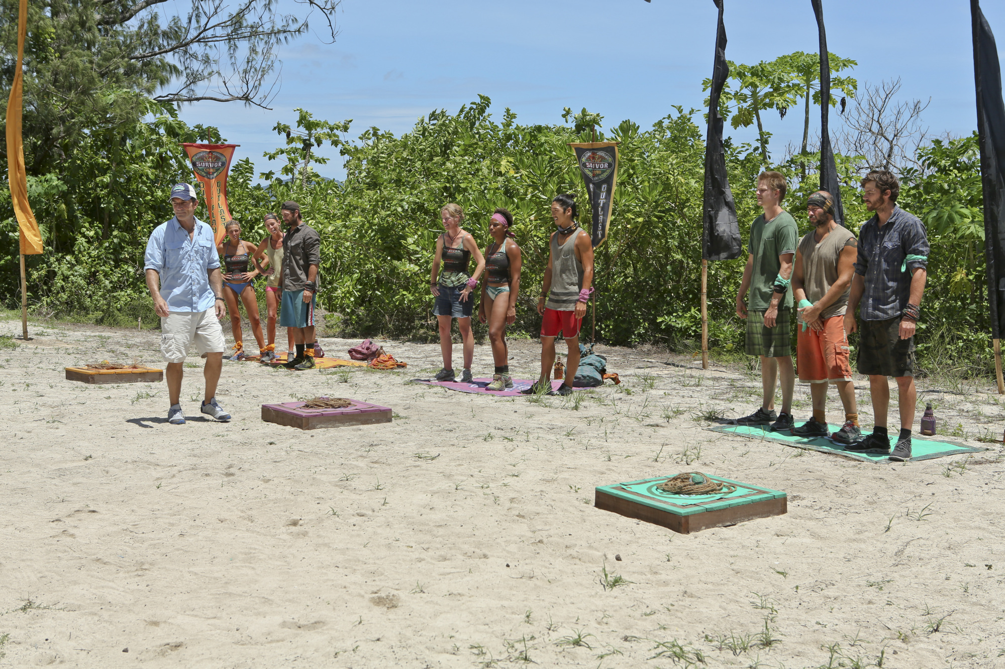 Getting ready to compete in Season 28 Episode 8