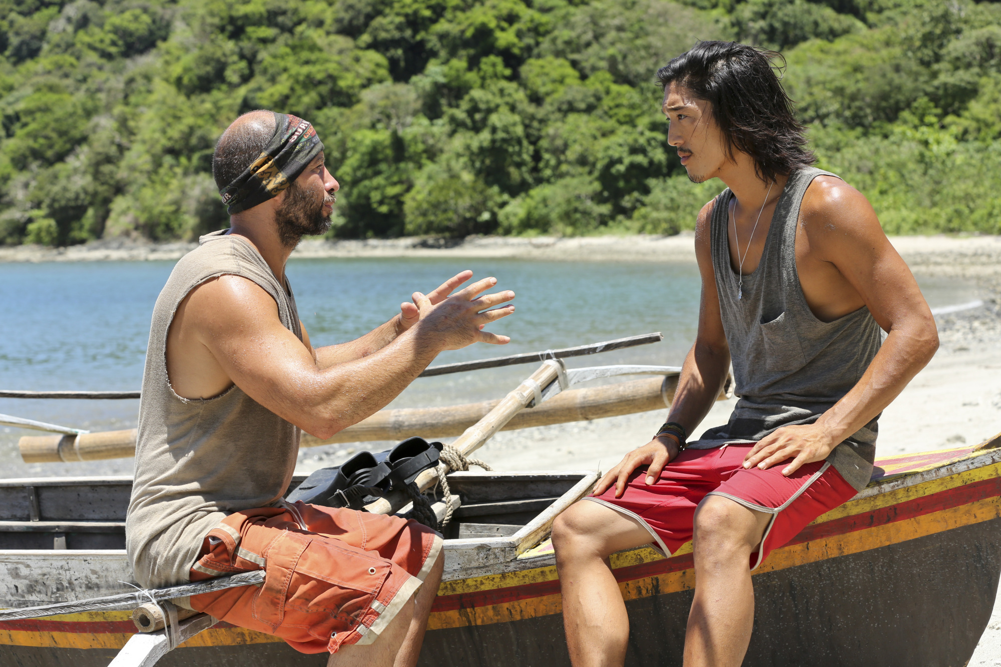 Tony and Woo in Season 28 Episode 8