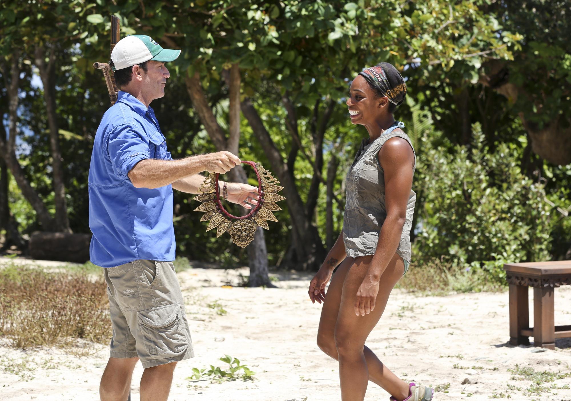 Tasha wins immunity in Season 28 Episode 8