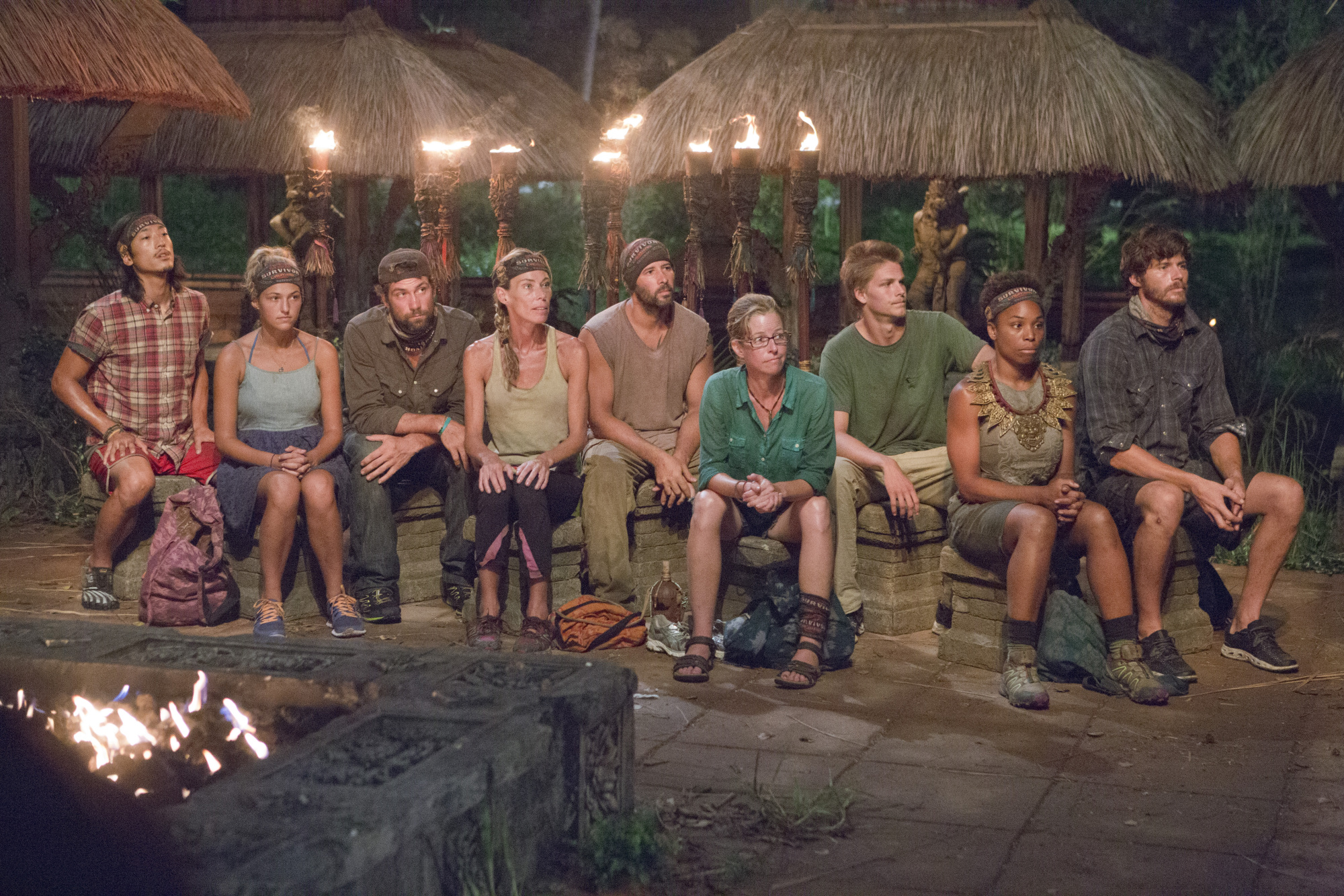 Tribal Council in Season 28 Episode 8