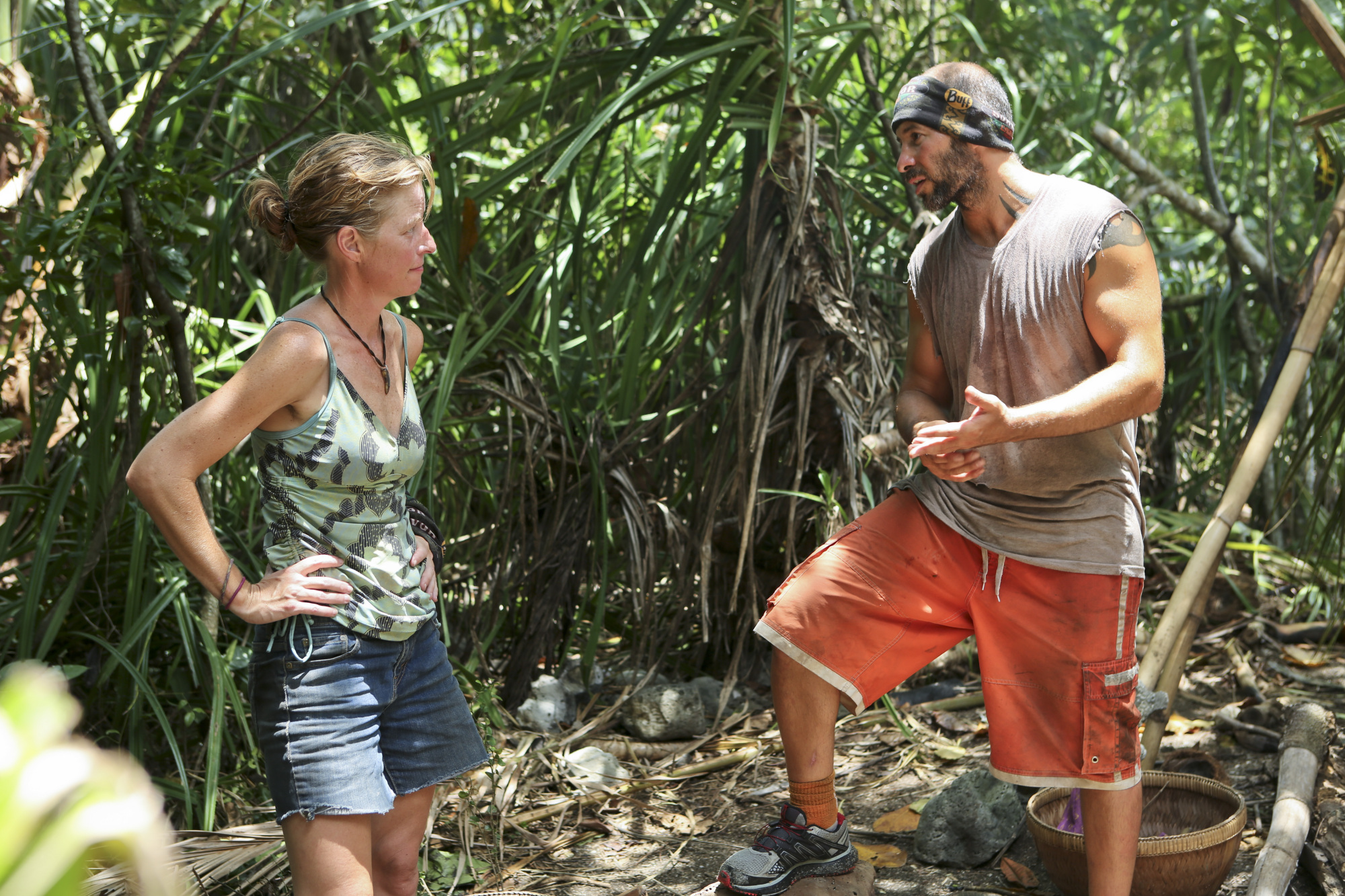 Kass and Tony in Season 28 Episode 9