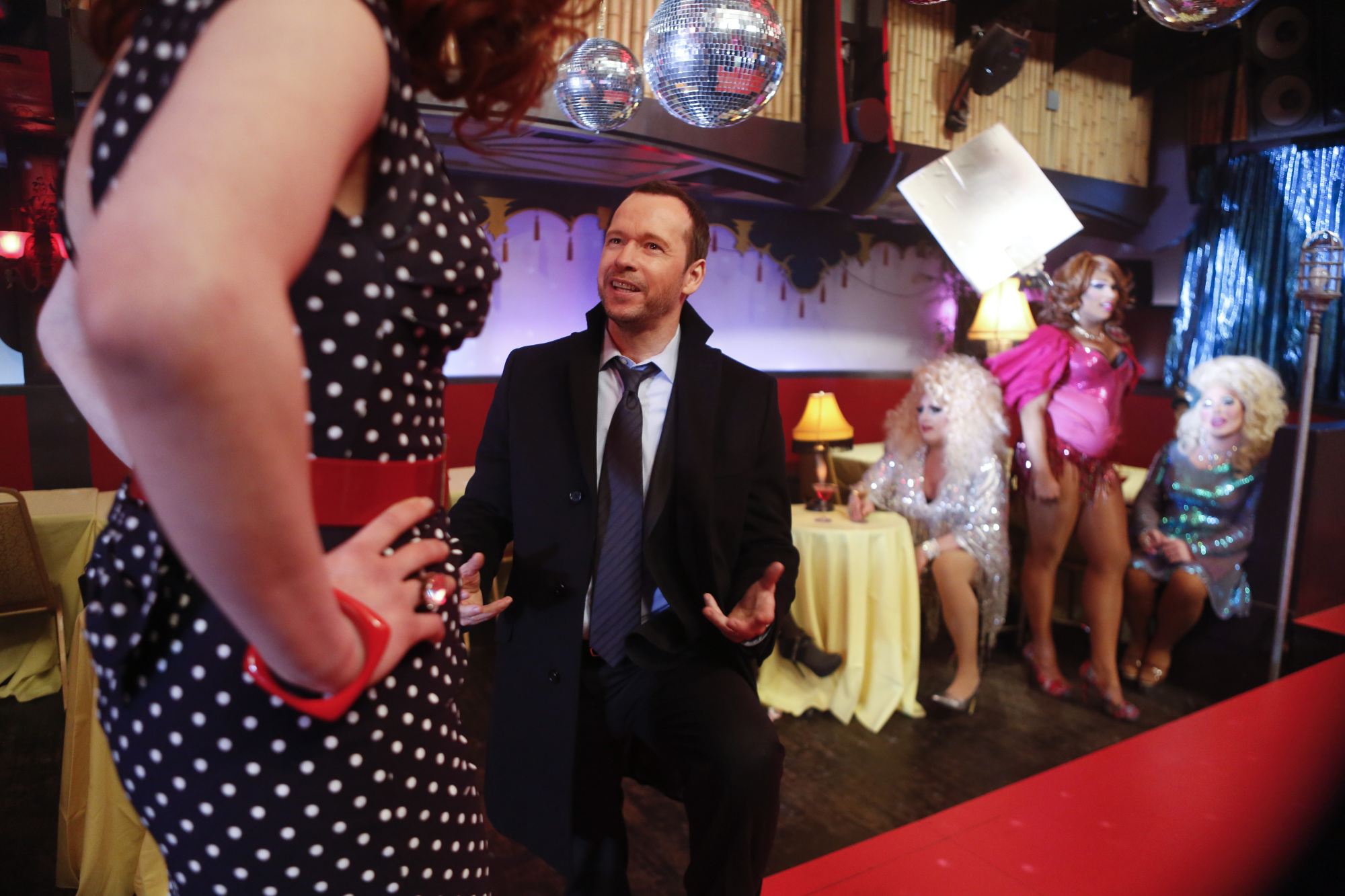 Behind the Scenes of Donnie Wahlberg's Blue Bloods Directorial Debut