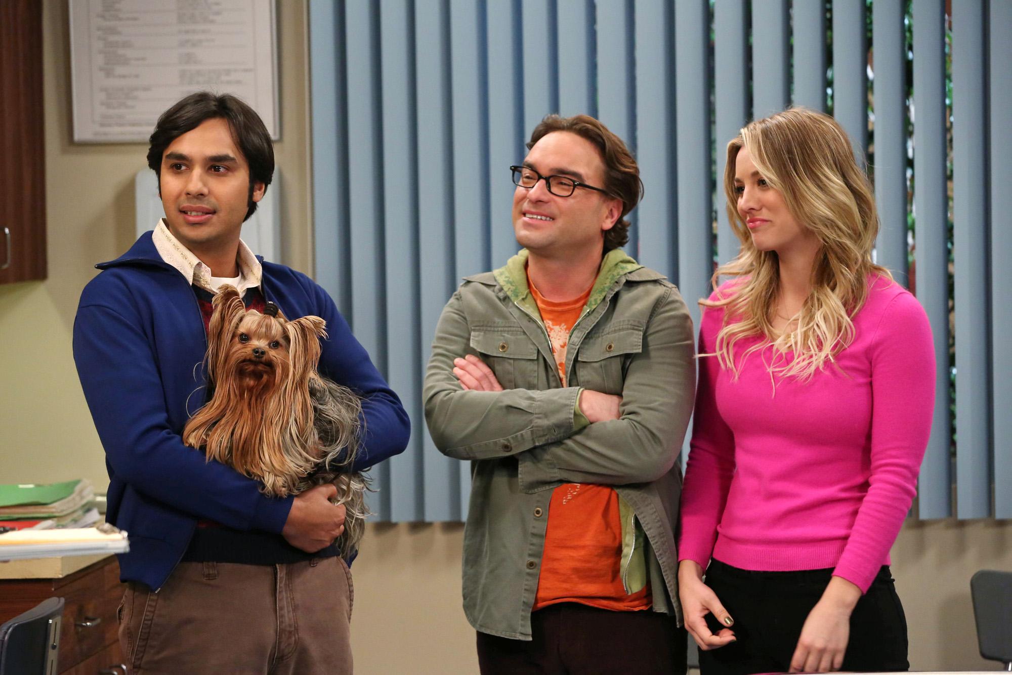 Raj, Leonard & Penny in