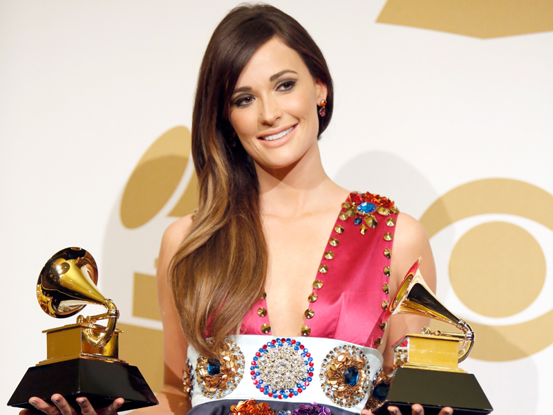Kacey Musgraves in the Press Room - GRAMMYs 2014 - CBS.com