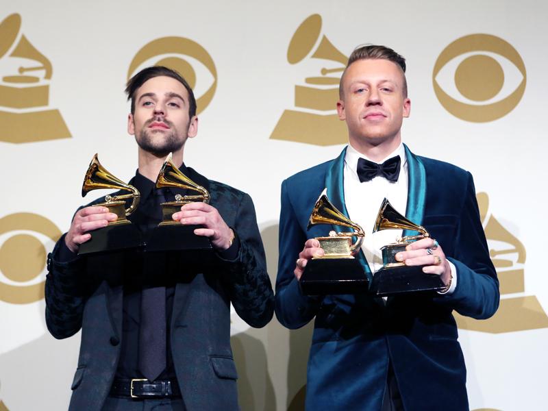Macklemore & Ryan Lewis in the Press Room - GRAMMYs 2014 - CBS.com