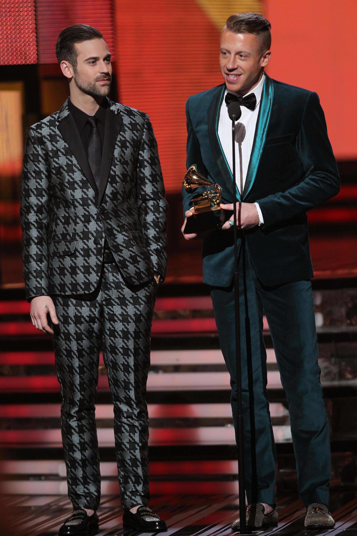 Macklemore & Ryan Lewis - GRAMMYs 2014 - CBS.com