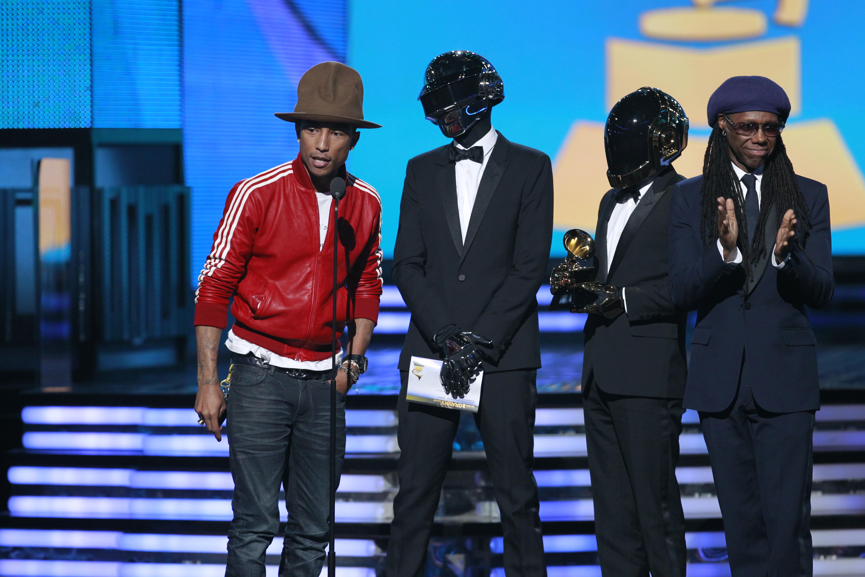 Pharrell, Daft Punk & Nile Rodgers - GRAMMYs 2014 - CBS.com