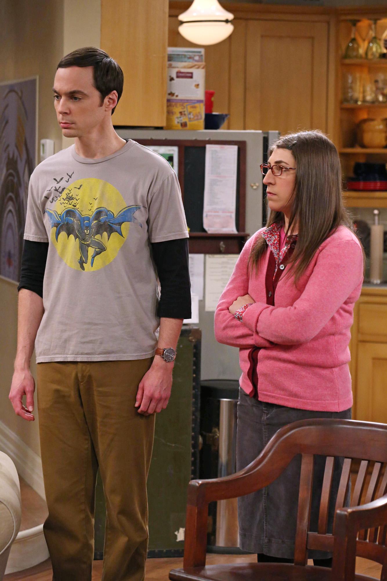 Sheldon & Amy in