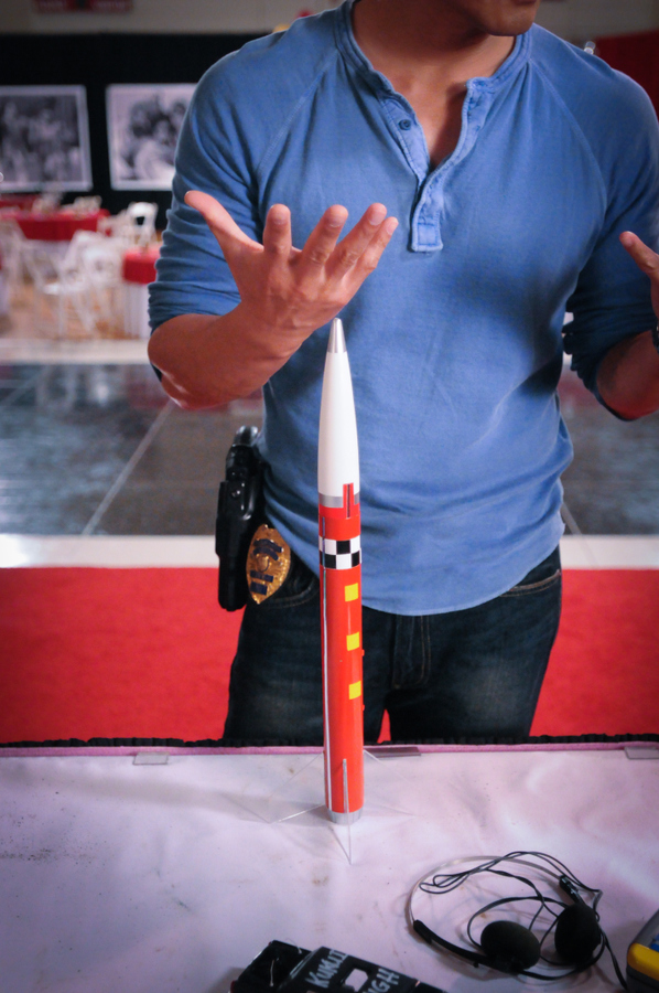 Toy Rocket on Display Season 4 Fan Built Episode