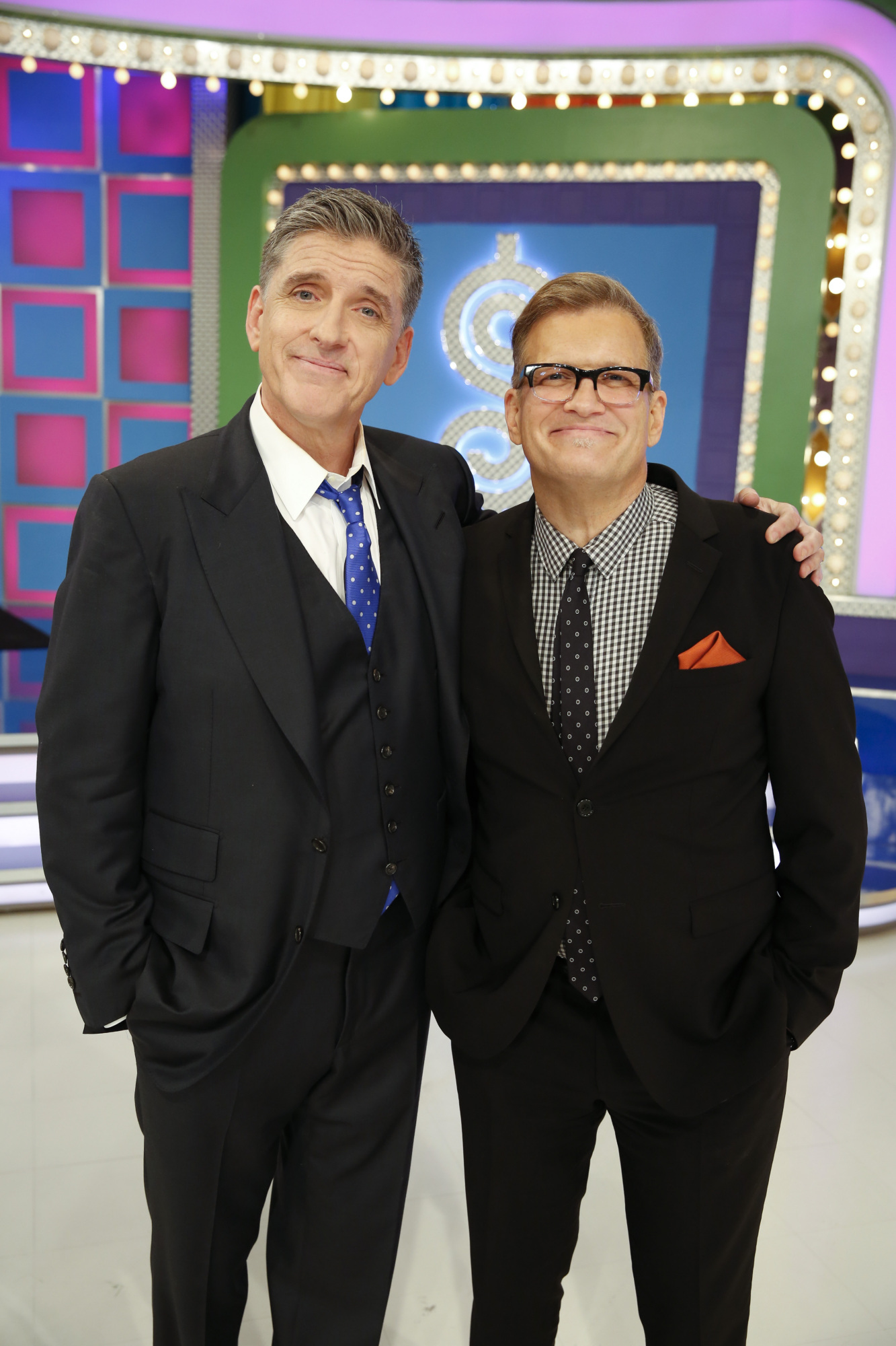 Craig Ferguson and Drew Carey on The Price Is Right