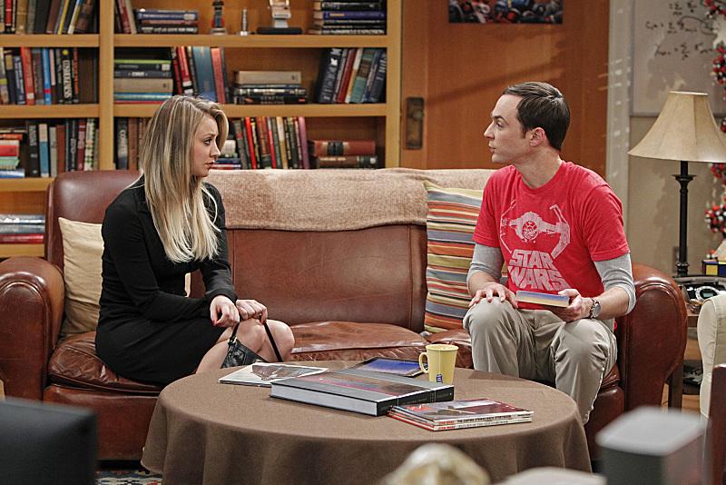 Penny & Sheldon in