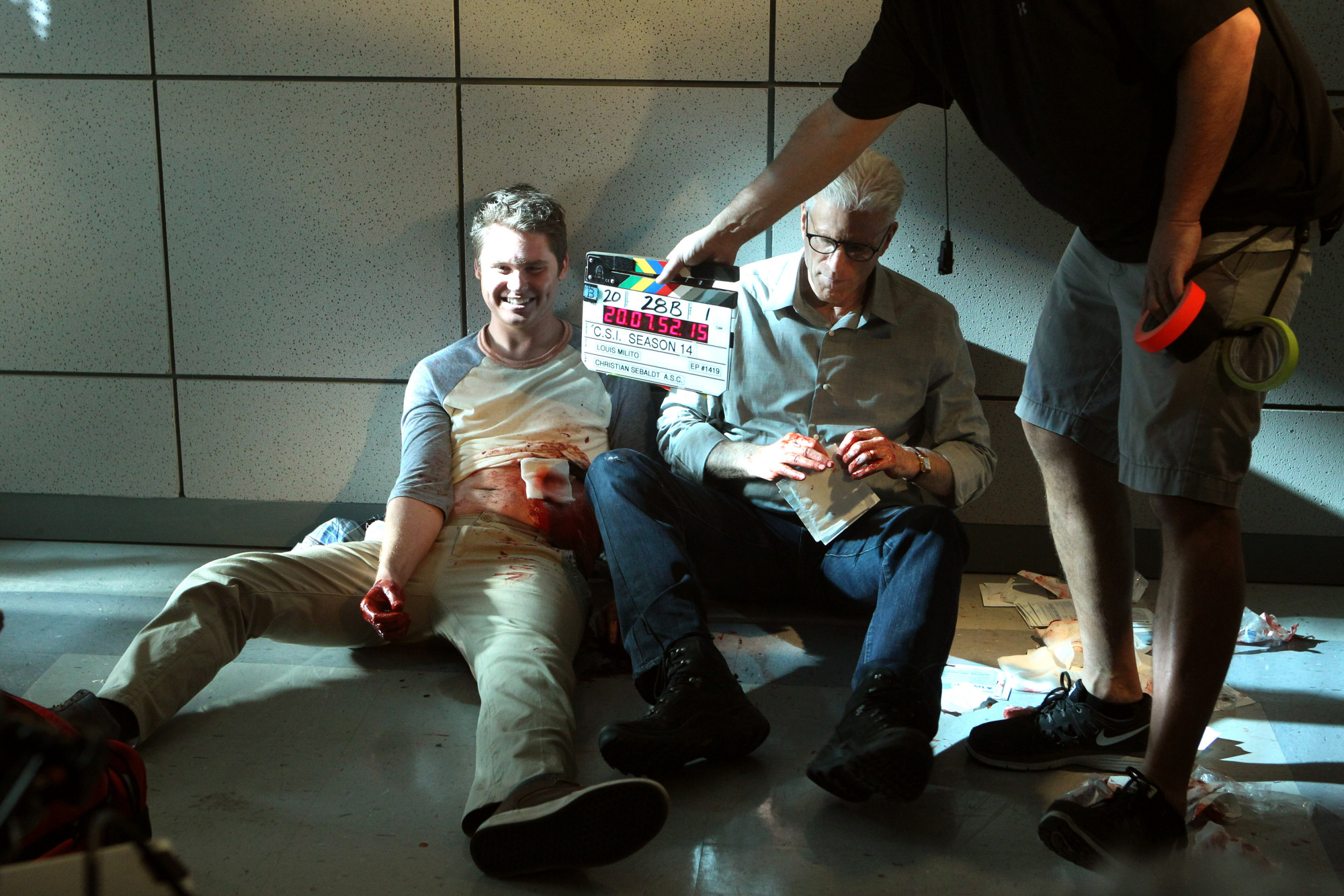 "Behind The Scenes in ""The Fallen"" S14 E19"
