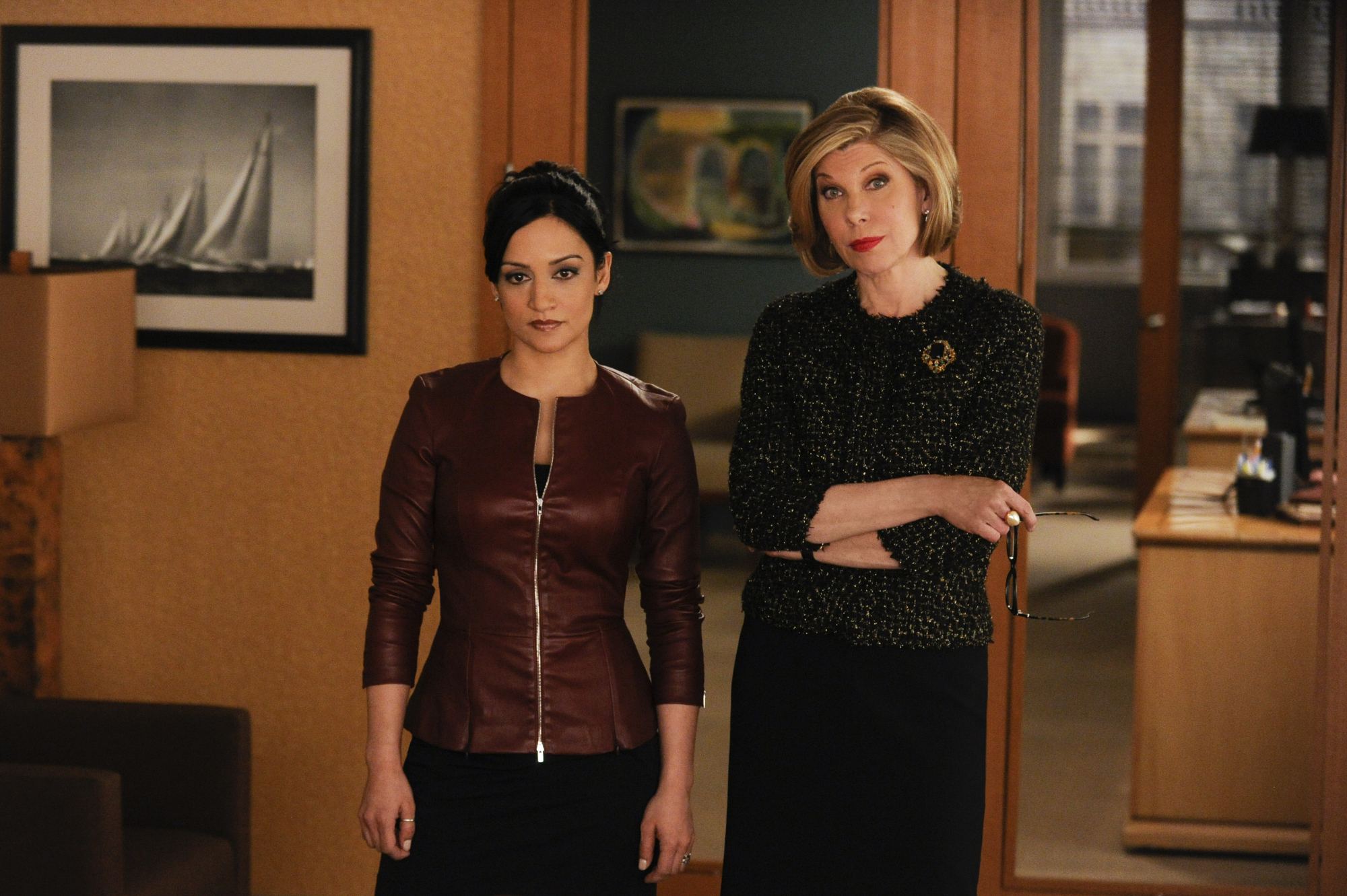Kalinda and Diane in