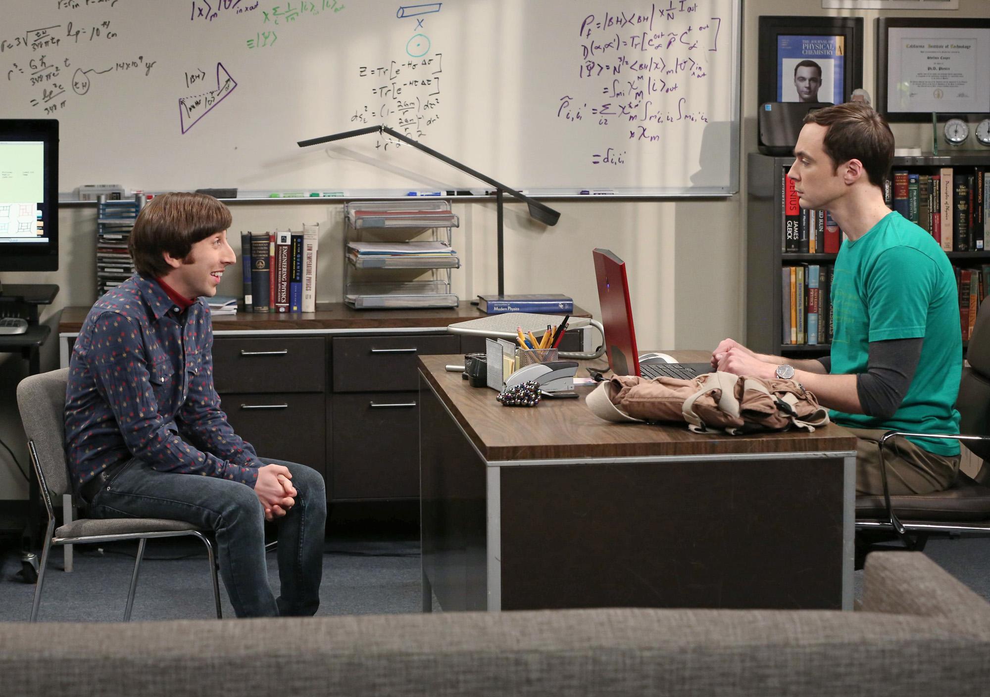 Howard & Sheldon in in