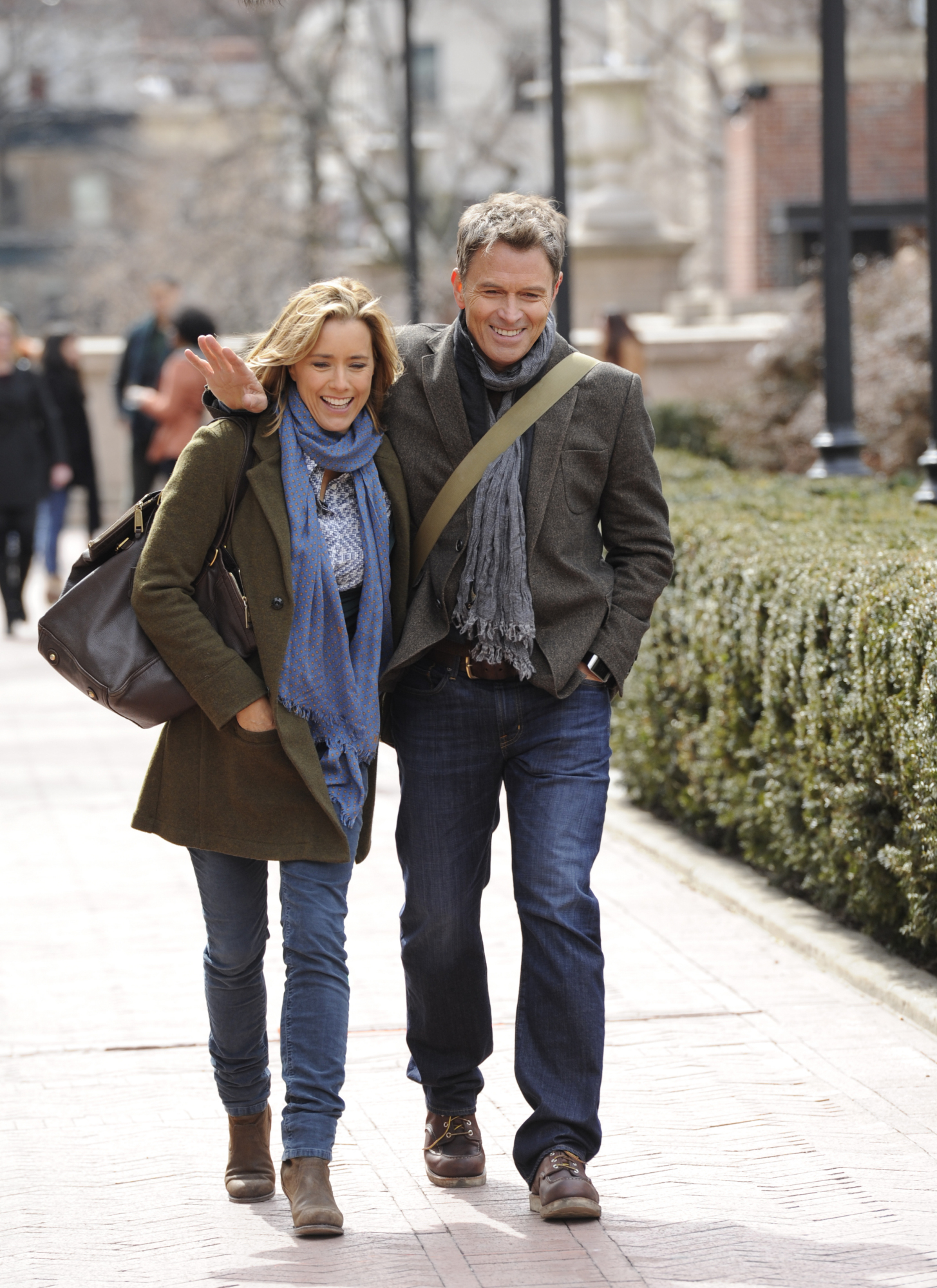 Téa Leoni and Tim Daly in Madam Secretary