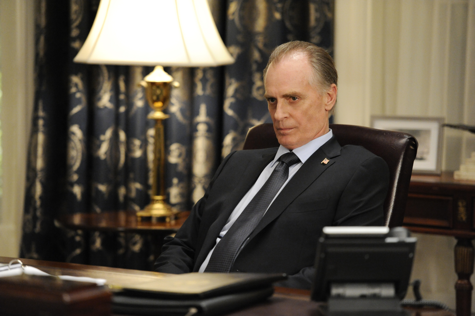 Keith Carradine as President Conrad