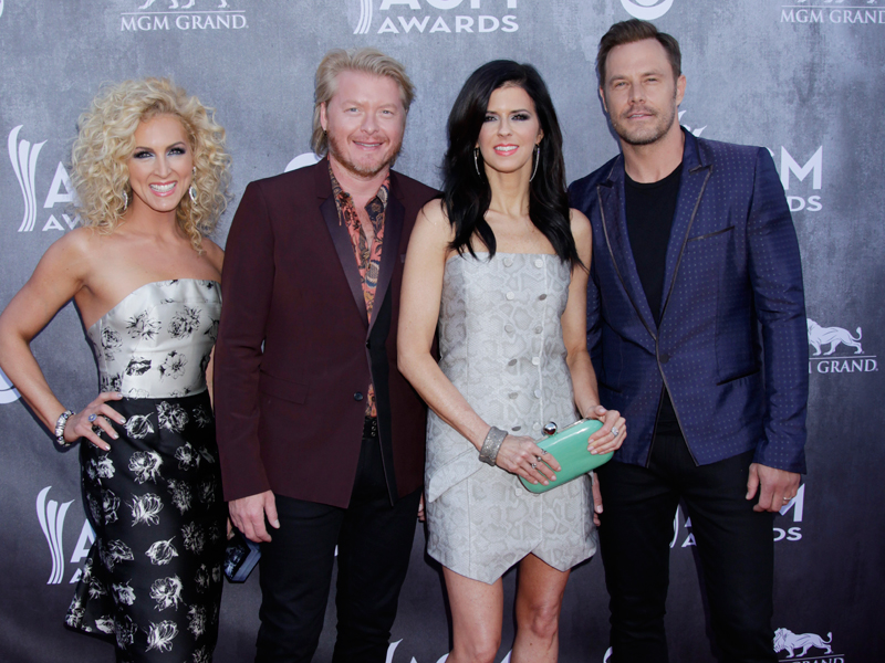 Little Big Town on the Red Carpet - 49th ACM Awards