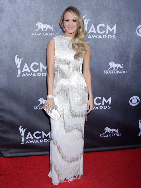 Carrie Underwood on the Red Carpet - 49th ACM Awards
