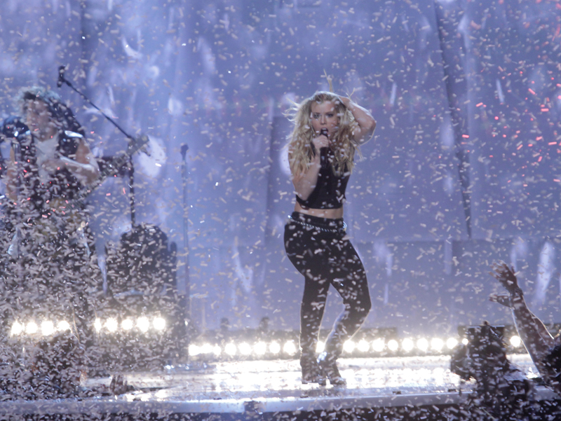 The Band Perry performs - 49th ACM Awards