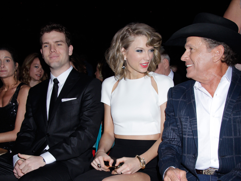 Taylor Swift and George Strait - 49th ACM Awards