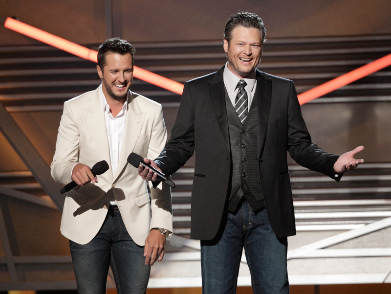 Luke Bryan & Blake Shelton Host - 49th ACM Awards