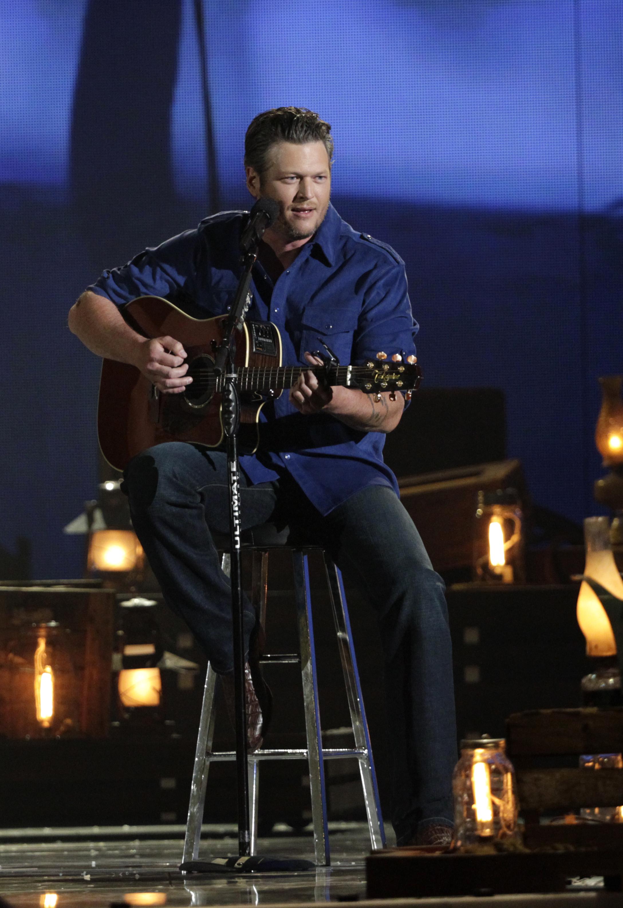 Blake Shelton performs - 49th ACM Awards