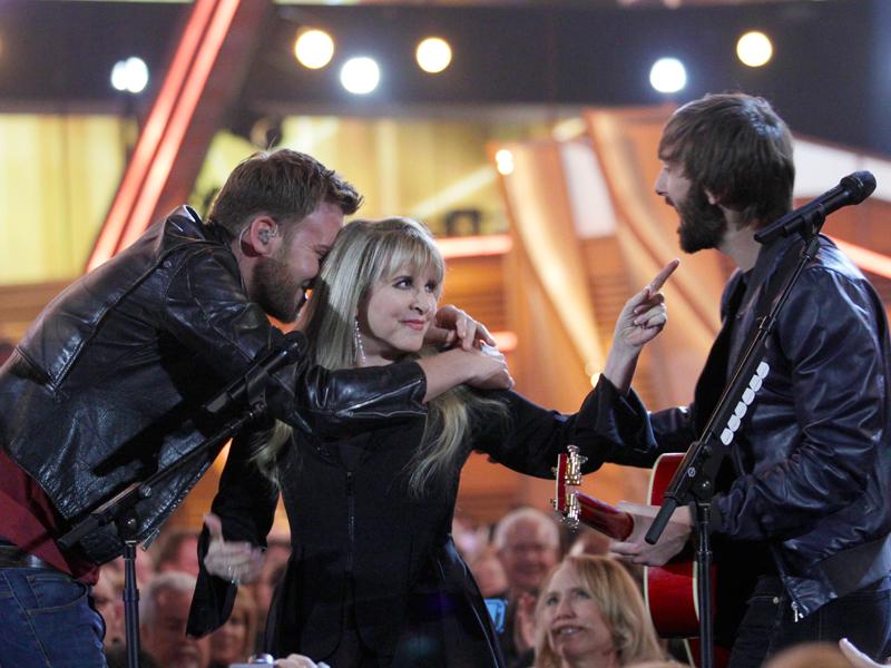 Lady Antebellum and Stevie Nicks Perform - 49th ACM Awards