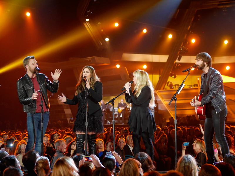 Lady Antebellum and Stevie Nicks Perform - 49th ACM Awards