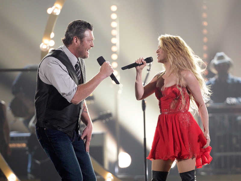 Co-Host Blake Shelton and Shakira Perform - 49th ACM Awards