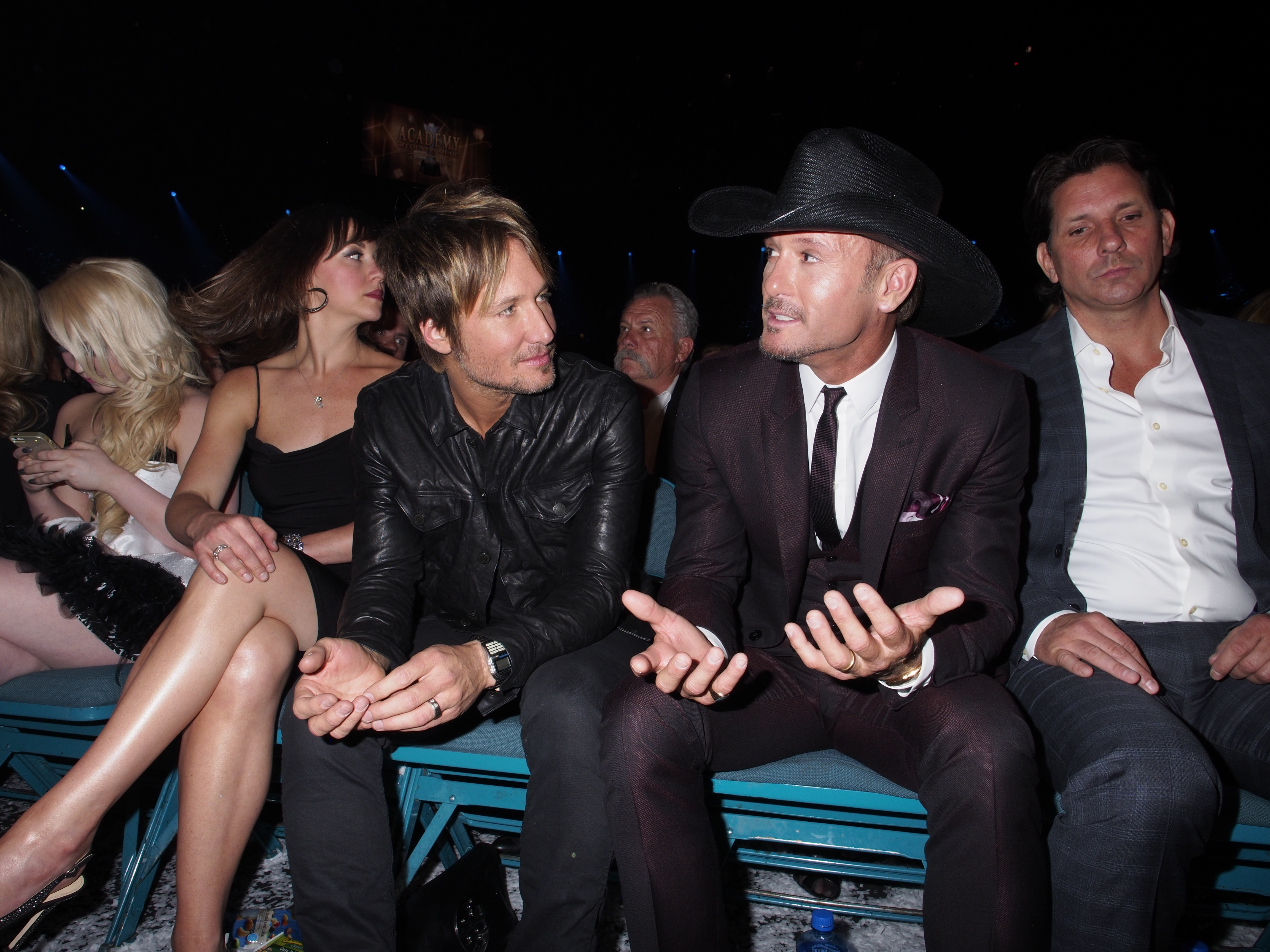 Keith Urban and Tim McGraw - 49th ACM Awards