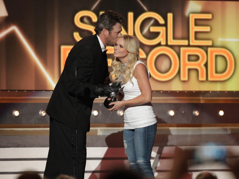 Blake Shelton and Miranda Lambert - 49th ACM Awards
