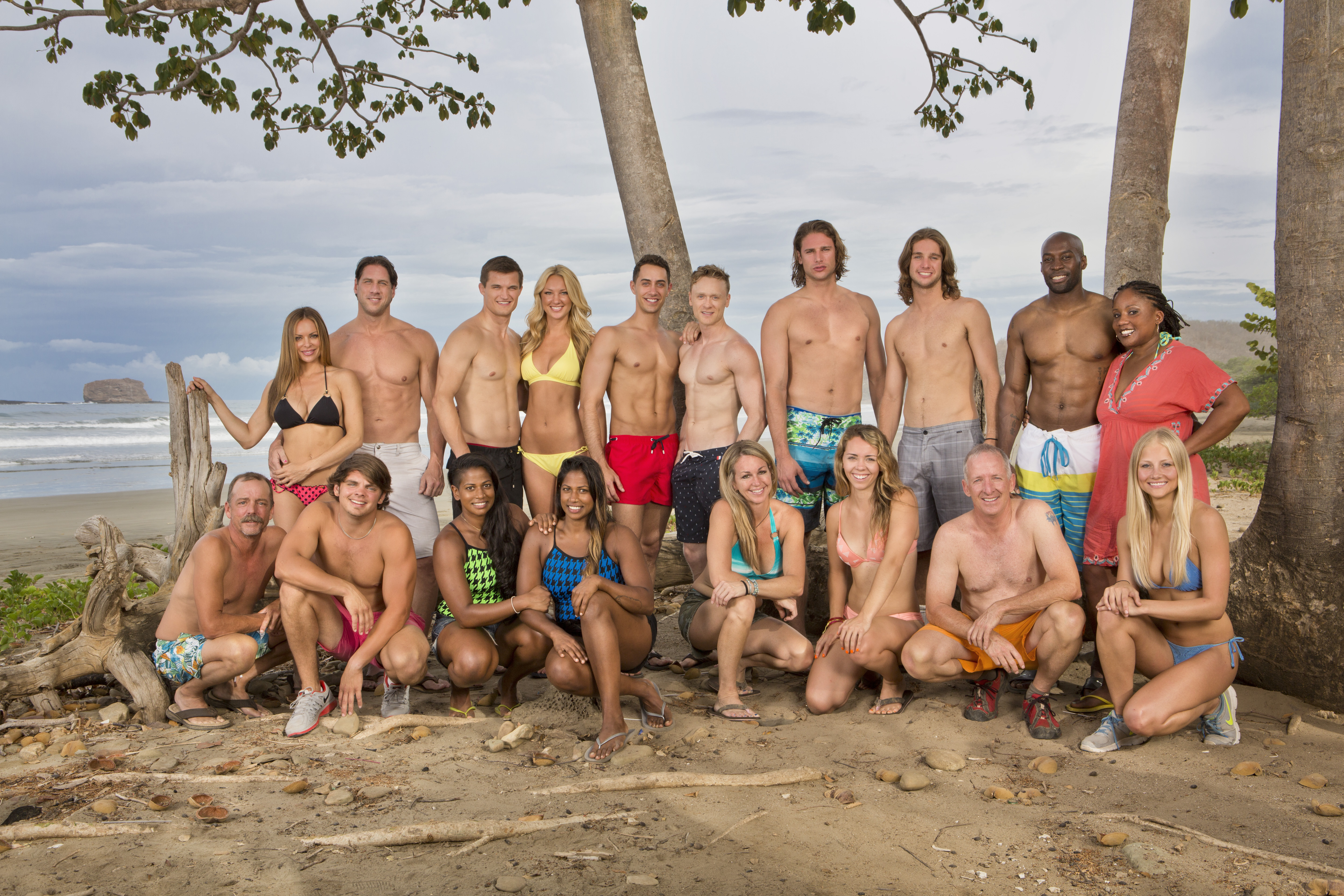 The new cast of Survivor: San Juan Del Sur