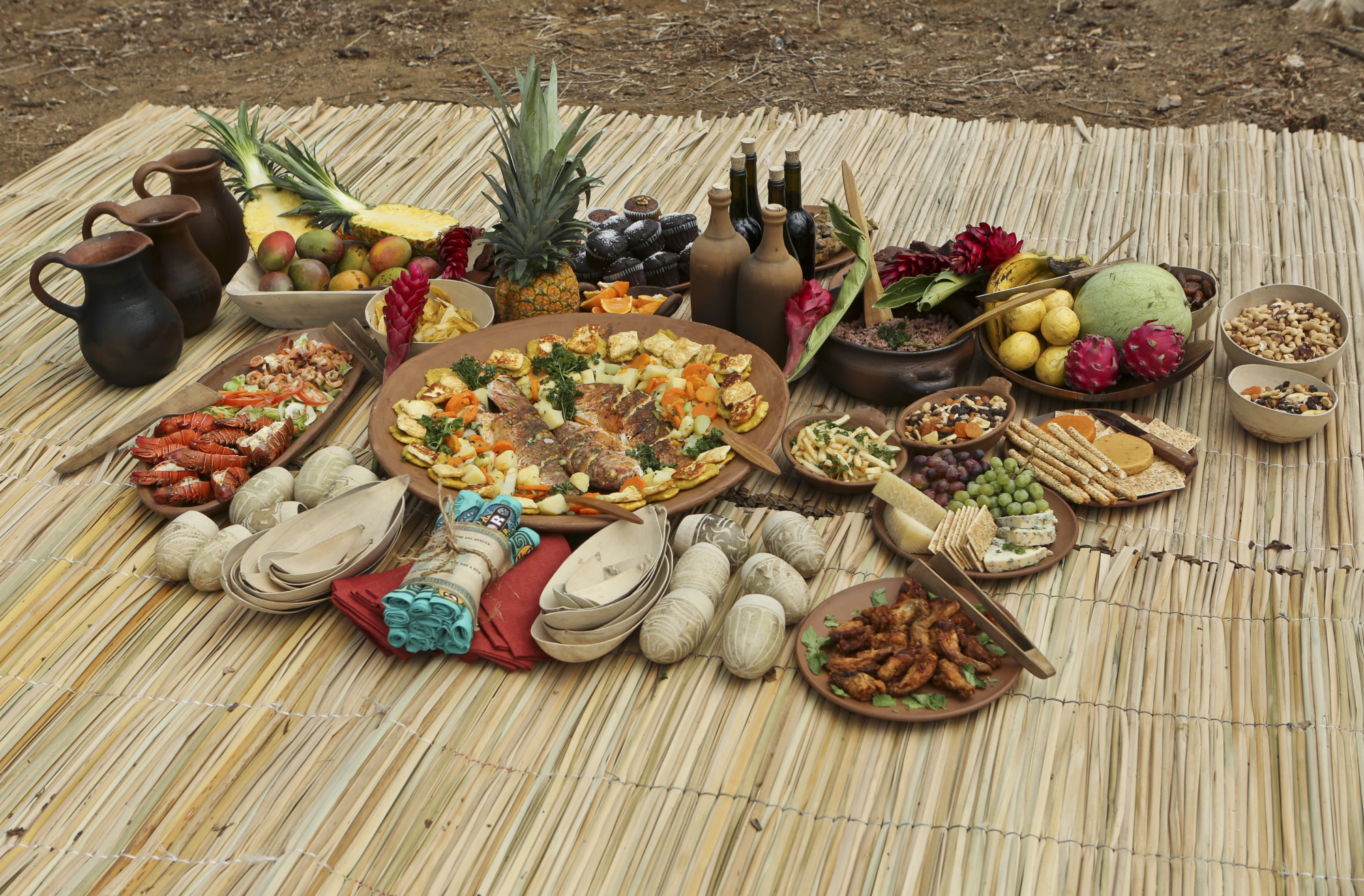 Delicious feast