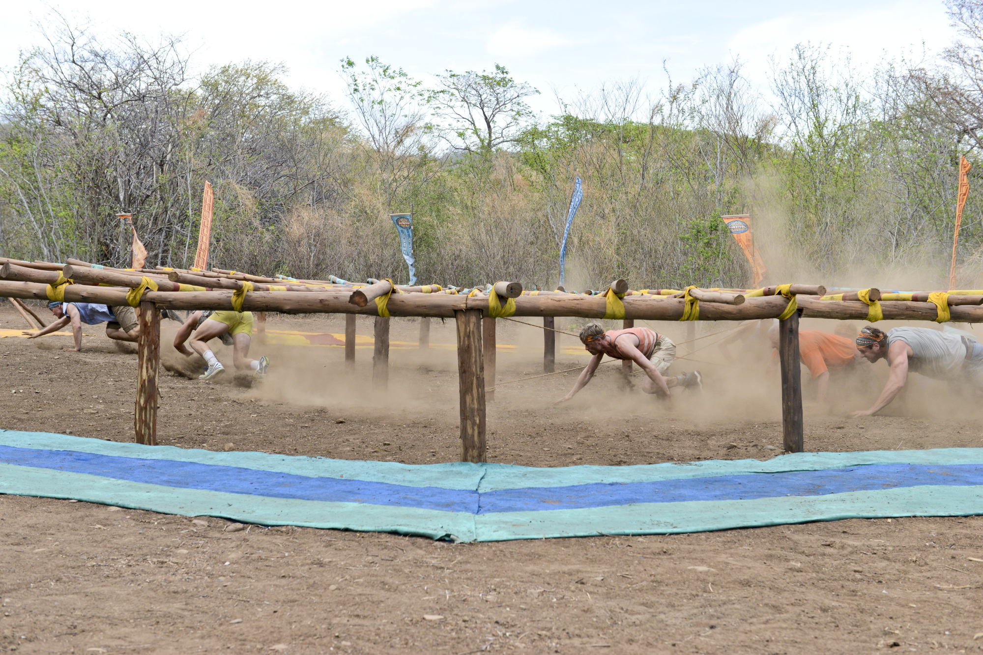 The Coyopa and Hunahpu Tribes compete