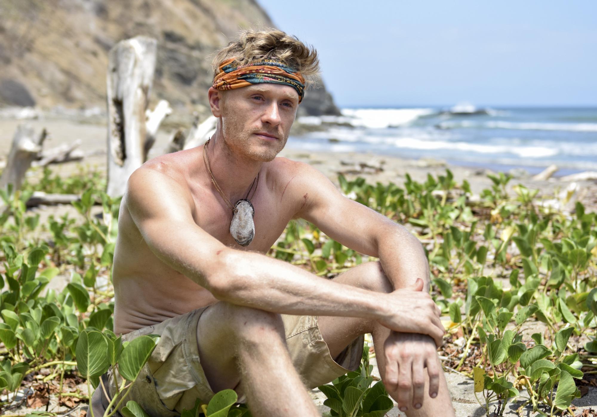 Josh on the island