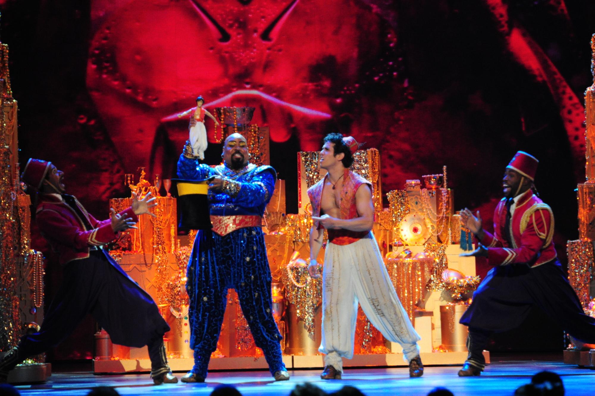 The Cast of Aladdin - 2014 Tony Awards