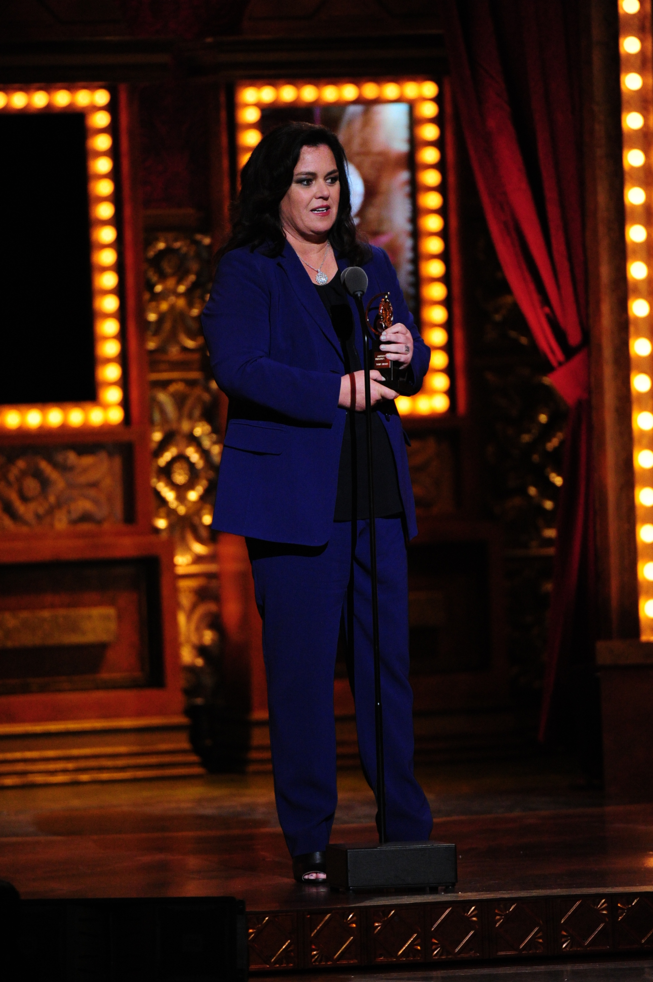 Rosie O'Donnell, 2014 recipient of the Isabelle Stevenson Award - 2014 Tony Awards