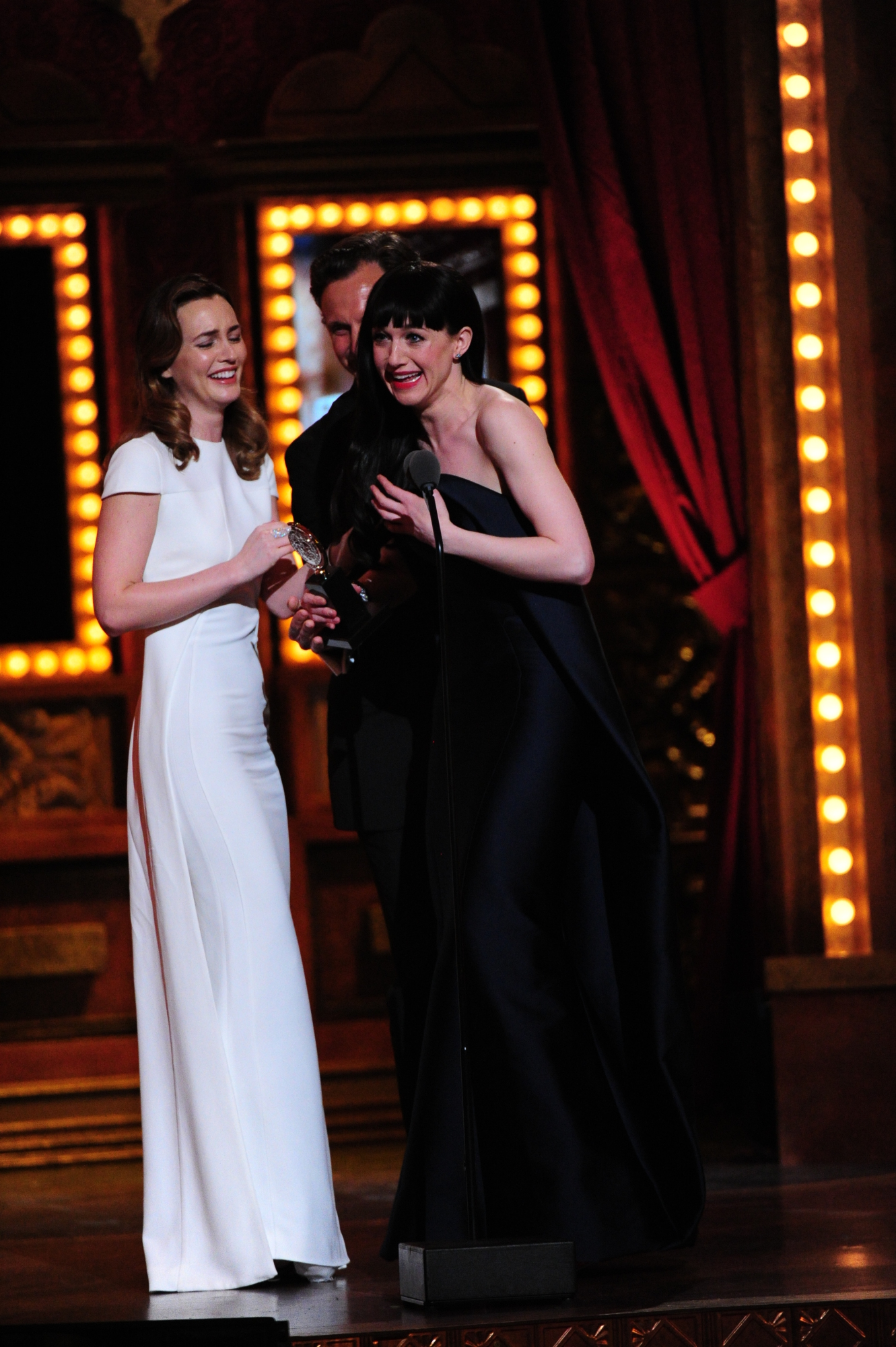 Winner Best Performance by an Actress in a Featured Role in a Musical Lena Hall for Hedwig and the Angry Inch - 2014 Tony Awards